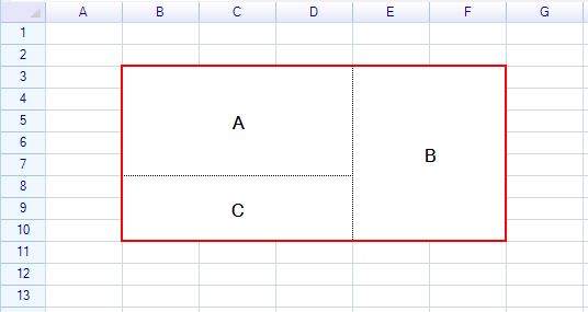 Merge and Unmerge – ReoGrid – .NET Spreadsheet Component