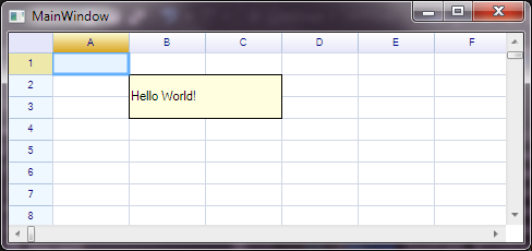 WPF Support – ReoGrid –  NET Spreadsheet Component